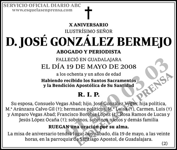 José González Bermejo